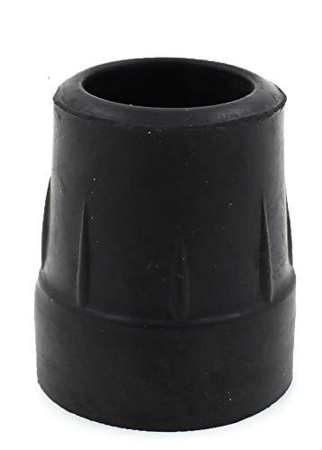 Lifeswonderful® - Strapazierfähige Gummi-Schutzkappen - Schwarz - 4 Stück - 25mm