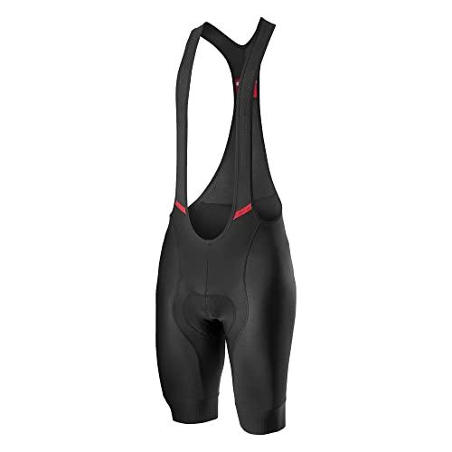 CASTELLI Competition - Pantalón Corto para Hombre, Color Negro, Talla L