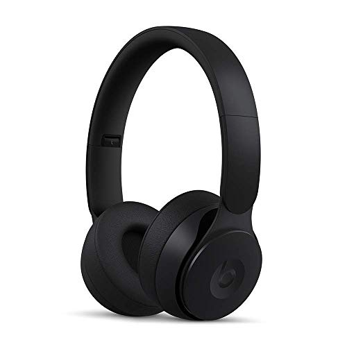 Beats Solo Pro Wireless Noise Cancelling On-Ear Headphones - Black (Renewed)
