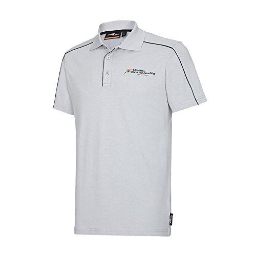 Sahara Force India F1 Team Herren Poloshirt, Grau Gr. L, grau