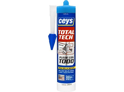 CEYS 507125 Cartucho Total Tech azul, 0