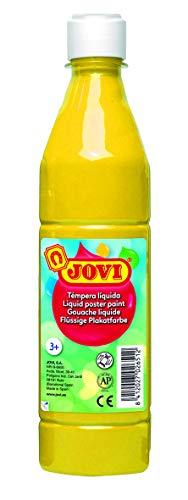 Jovi- Témpera líquida, Color amarillo, 500 mililitros (02)