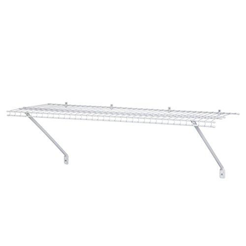 ClosetMaid 2800 ShelfTrack 12-Inch Standard, White