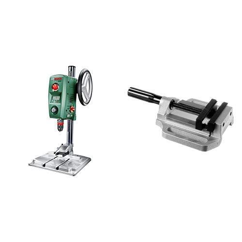 Bosch Standbohrmaschine PBD 40 (710 Watt, im Karton) + Zubehör Maschinenschraubstock MS 100 G