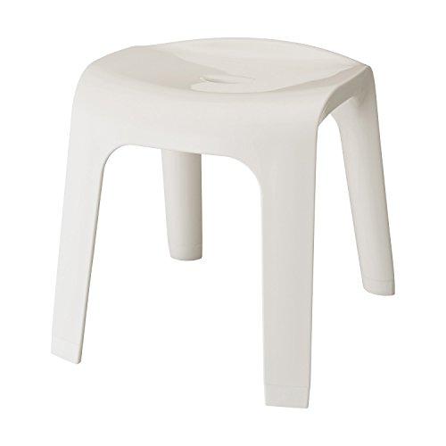 レック Sylphy 風呂いす 高さ35cm ( ホワイト ) ワイド座面 (風呂椅子 バスチェア) BB-404
