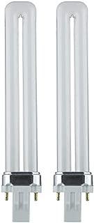 Sunlite PL13/SP65K 13-Watt Compact Fluorescent Plug-In 2-Pin Light Bulb, 6500K - 2 Pack