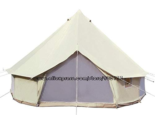 Mdsfe Diameter 5m Bell Tent Heavy Duty Waterproof Family Camping Bell Tent For Outdoor Wedding Party Tent-5m oxford bell tent,A4