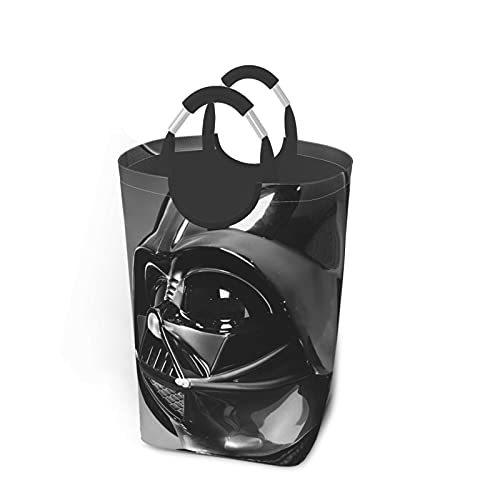 Star Mandalorian Wars Darth Vader - Juego de ropa sucia, plegable, para viajes, baño, hogar, universidad, dormitorio para hombres y mujeres, 50 L