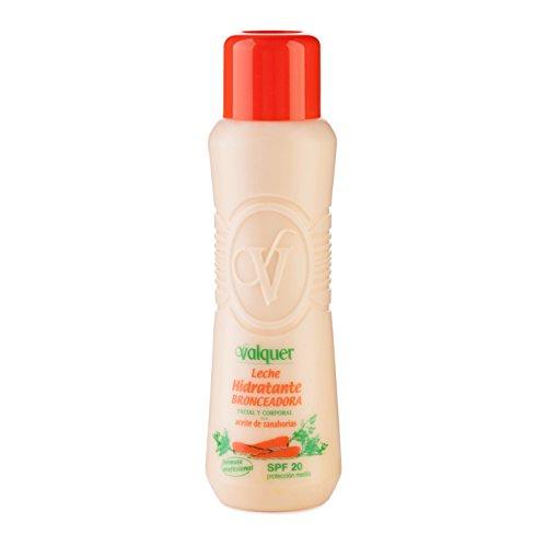 Válquer Leche Hidratante Bronceadora (SPF 20) - 500 ml.