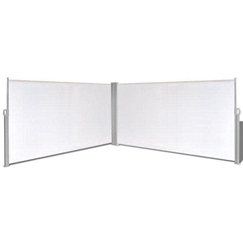 Zora Walter Store latéral Extensible Crème 160 x 600 cm