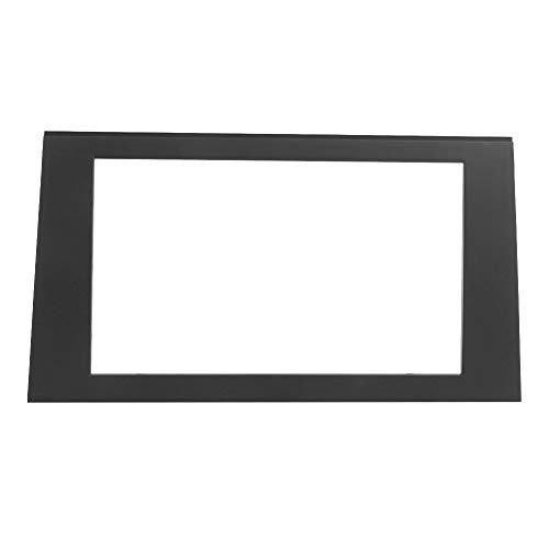 Kit installazione autoradio doppio DIN | Fascia di navigazione 2Din 7in Cornice per auto DVD Radio Player Trim per pannello adatto per AU-DI A4 B6 B7 2002-2007