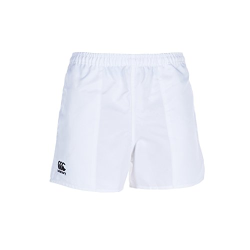 Canterbury E523406-001-XS Short de Rugby Homme, Blanc, FR (Taille Fabricant : XL)