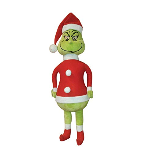 Christmas Doll How The Lifelike Grinch Stole Stuffed Plush Toy Xmas Kids Gifts, Winter Christmas Holiday Home Decor Party Supplies Traditional Ornament