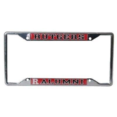 Stockdale Rutgers Scarlet Knights Alumni Metal License Plate Frame W/Domed Insert