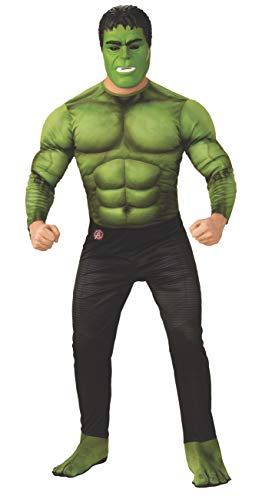Rubies - Disfraz Oficial de Los Vengadores Endgame Hulk, para Hombre Adulto