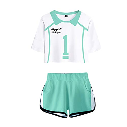 S-vision Haikyuu Short Wear Sportswear Disfraz Cosplay Traje Anime Carcter Uniforme para Navidad H-XX-Large