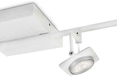 Philips myLiving 531943116 Millennium Spot LED en métal 4 ampoules Blanc 4,5 W