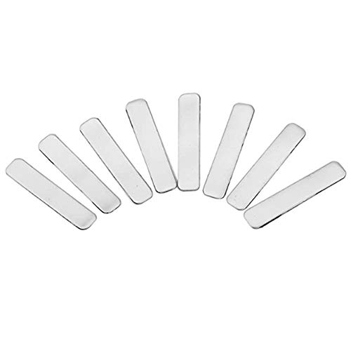 Bayda 20 cintas de plomo con peso para añadir peso para palos de tenis, raqueta de hierro y putter