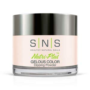 SNS Nails Dipping Powder Gelous Color - 56 - Barely There Pink - 1 oz