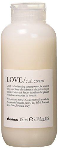 Davines love curl cream (for wavy or curly hair) 150ml.