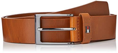 Tommy Hilfiger Layton Leather 3.5 Cintura, Marrone, 90 Uomo