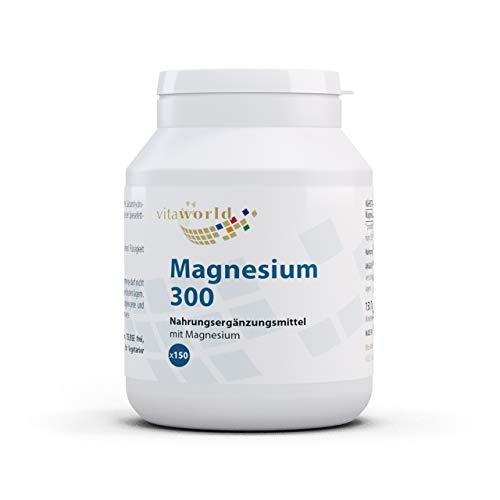 3er Pack Vita World Magnesium 300mg 450 Tabletten Apotheken Herstellung
