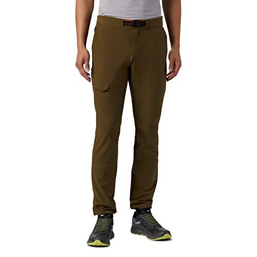 Columbia Maxtrail Hose Pantalon pour Homme, New Olive, Taille 38