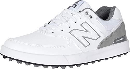 New Balance Women's 574 Greens Golf Shoe, White, 7