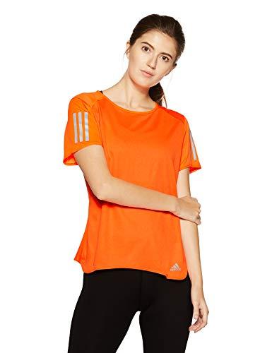adidas Response Short Sleeve tee Camiseta, Mujer, Multicolor
