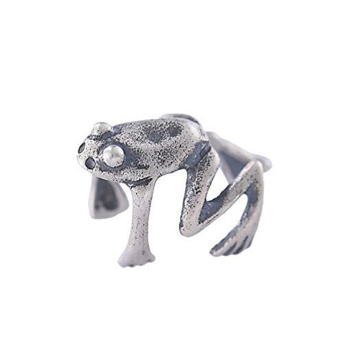Richo Clip de oreja de rana, pendiente de clip para cartílago de hélix, punk, no perforado, para hombres y mujeres, suministros de joyería