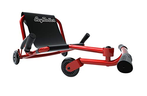 EzyRoller Ride On Toy - New Twist On A Classic Scooter - Red