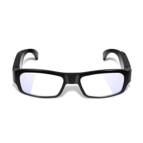 1080P HD Hidden Camera Glasses - Mini Wearable Video Recorder with 16GB Memory Card Built-in