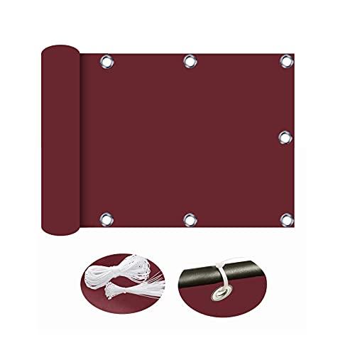 ZYFA Pantalla para Balcón Protección Privacidad Parabrisas Opaca para jardín Balcón,Disponible para tamaños Personalizados