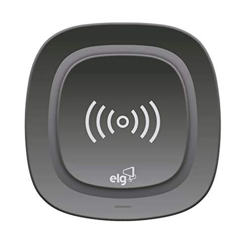 Carregador Wireless De Mesa Para Celular - Tecnologia Qi - Preto - Wq1Bk - Elg, Elg, Wq1Bk, Preto
