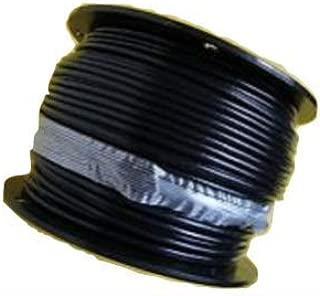 Black Nylon Coated Galvanized Cable, 3/16