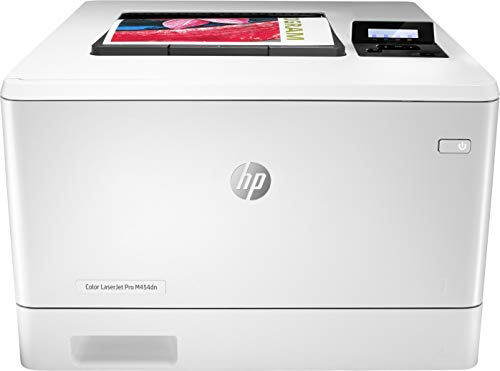 HP Color LaserJet Pro M454dn Printer, Double-Sided Printing & Built-in Ethernet (W1Y44A)