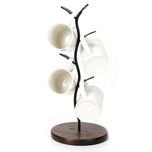HoroM Coffee Mug Tree for Counter Coffee Mug Holder Stand Mug Rack Countertop