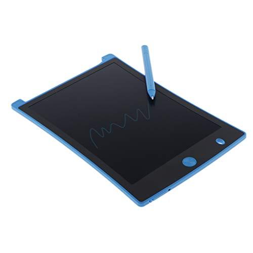 Nobranded Escritor E del Bloc de Notas del Tablero de La Tableta del Borrado de Las Letras del LCD de 8.5'para - Azul