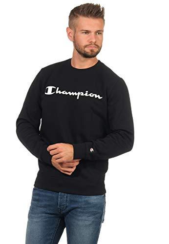 Champion Crew-Neck Herren 214744 F20 KK001 NBK Schwarz, Größe:S