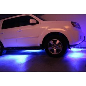 LED Under Car Glow Underbody System Neon Lights Kit 48