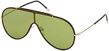 Tom Ford Green Shield Sunglasses