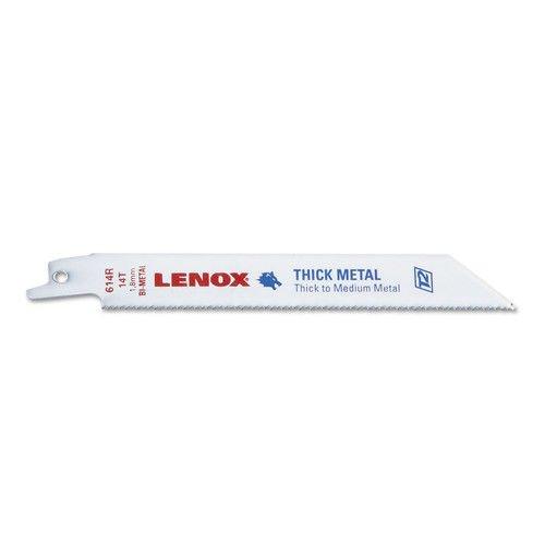 LENOX Tools Reciprocating Saw Blades, Metal Cutting, 6-Inch, 18 TPI, 25-Pack ( B614R)