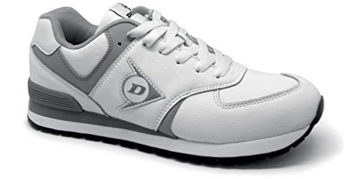 Dunlop DL0203002-43 - Zapato de trabajo y trabajo con alas voladoras, color blanco, talla 43
