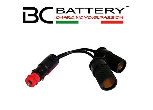 Sdoppiatore per Presa Accendisigari Moto Battery Controller BC SD.ACC