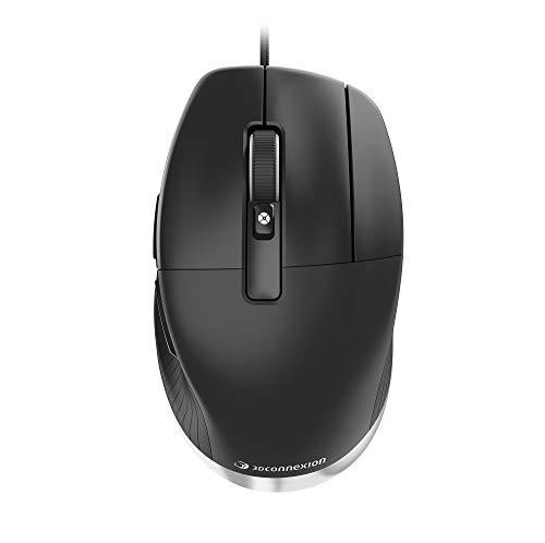 3Dconnexion CadMouse Pro (Ergonomische Maus, optisch, USB, Rechtshänder)