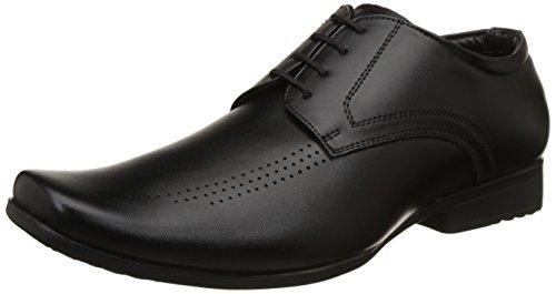 BATA Men's Leo Black Formal Shoes-9 (8216666)