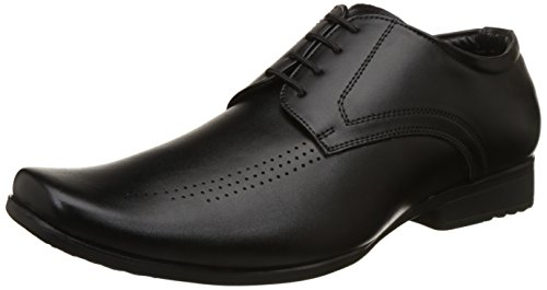 BATA Men's Leo Black Formal Shoes-9 (8216666)
