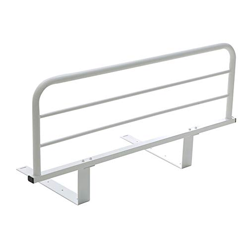 YIKEY- Bed Rails Stapelbed Guardrail/kind Bed Guardrail, Anti-val Bedkant Baffle Adult Old Bed Guardrail Bedside Railing, Wit, 90/120cm