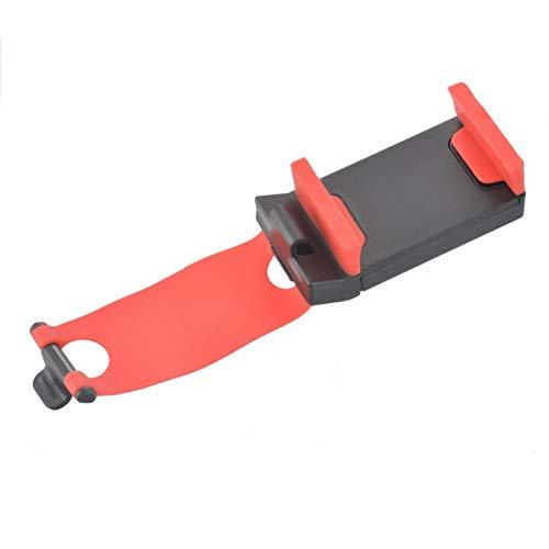 USNASLM Soporte para teléfono de coche con clip para volante de coche, para teléfono móvil, accesorios GPS, estilo de coche