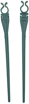 7.5 inches Aniai Universal Christmas Light Lawn Stake Green Color Pack of 50